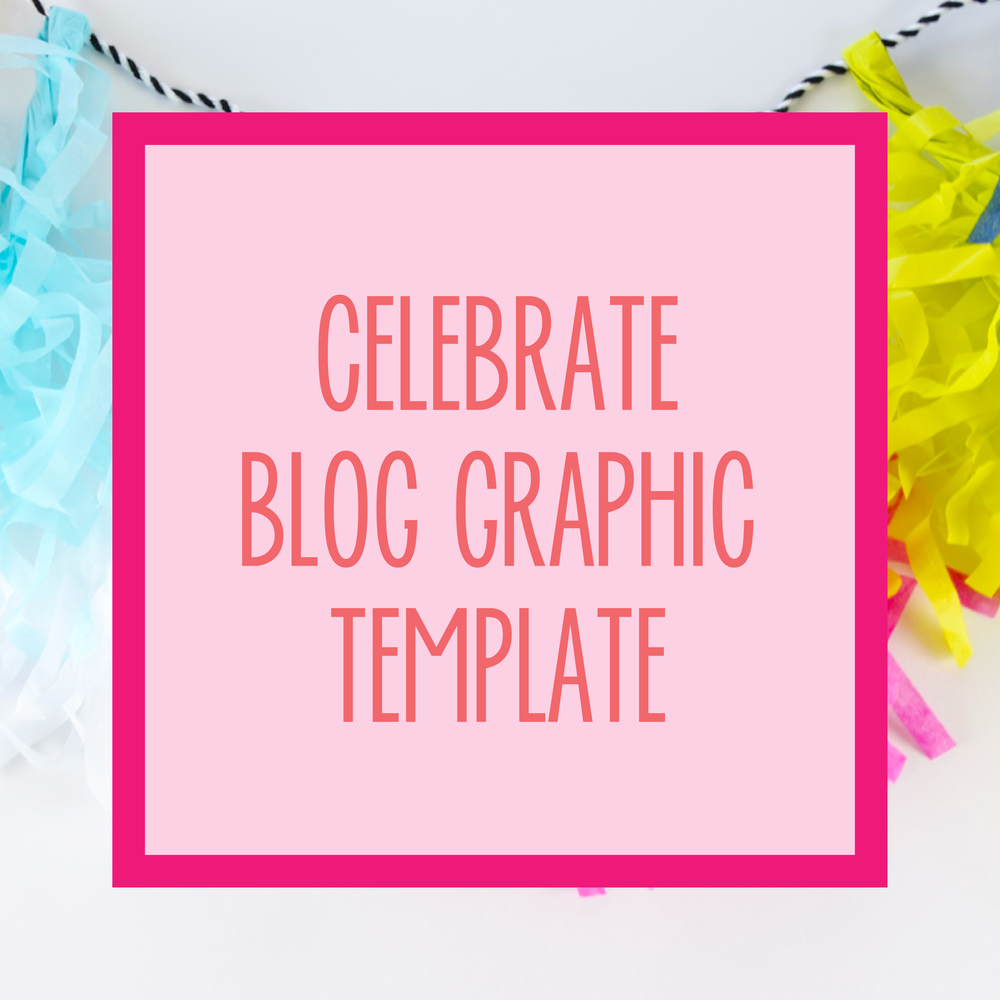 Bold & Pop : Bold Boss Resource Library Celebrate Blog Template