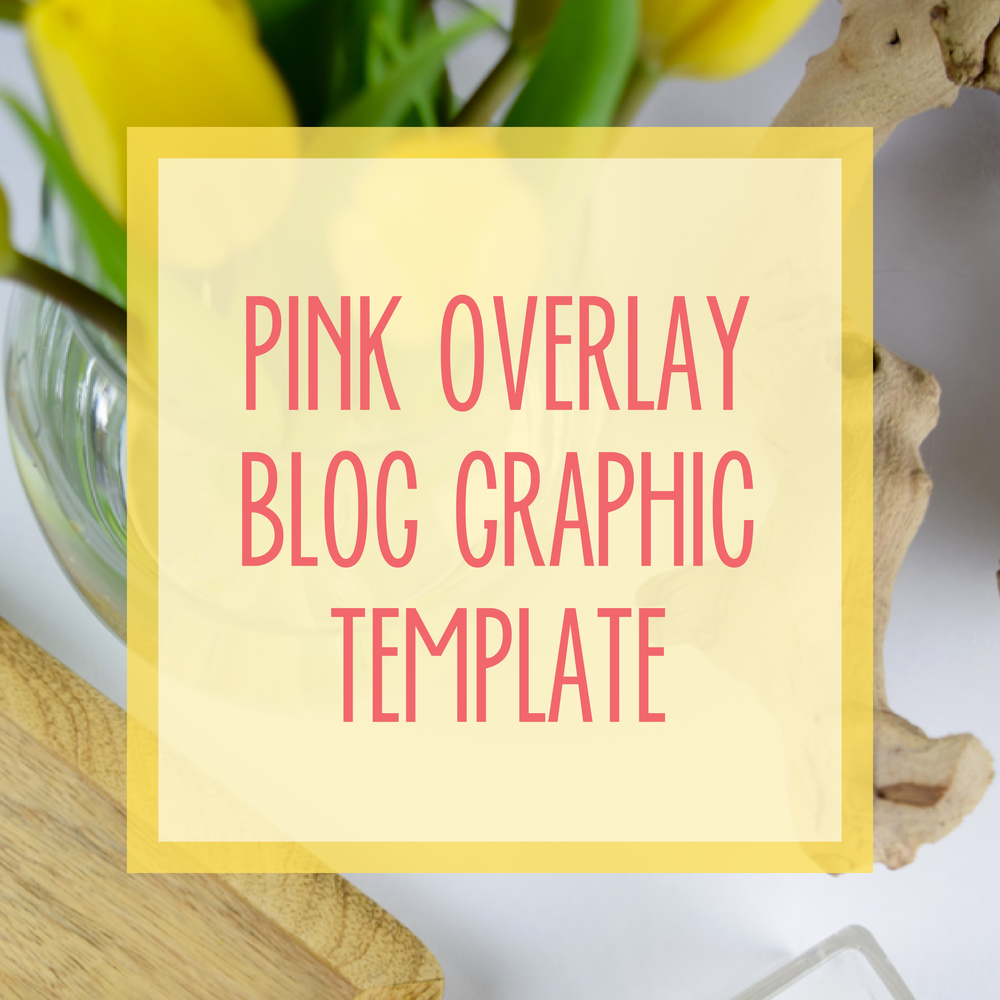Bold & Pop : Bold Boss Resource Library Pink Overlay Blog Template