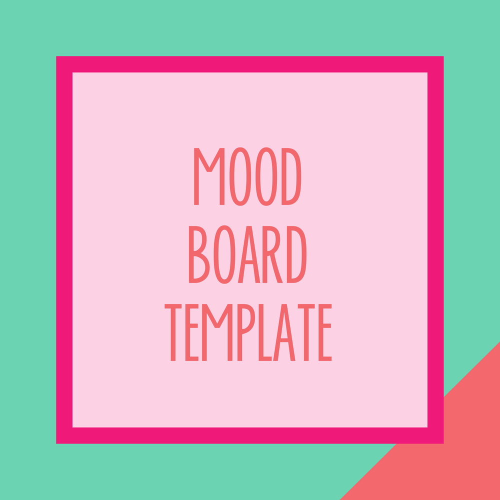 Bold & Pop : Bold Boss Resource Library Mood Board Template