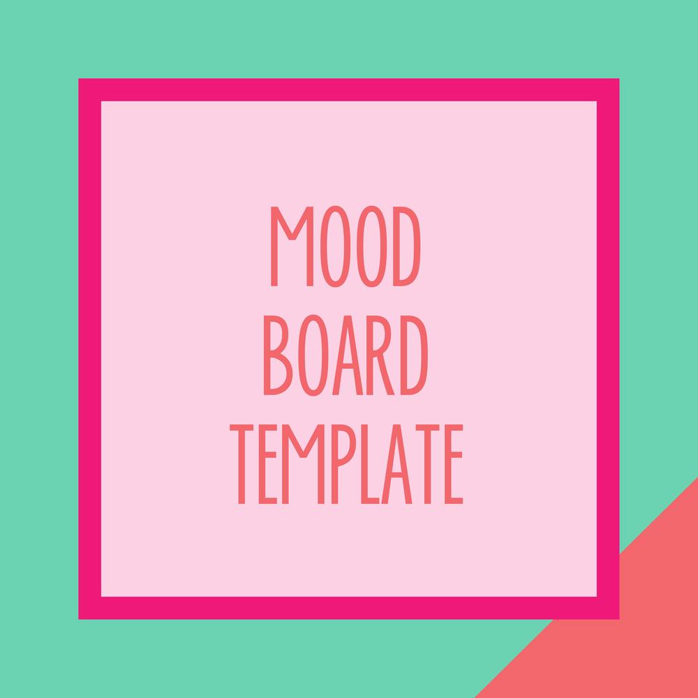 Bold & Pop : Bold Boss Resource Library Mood Board Template