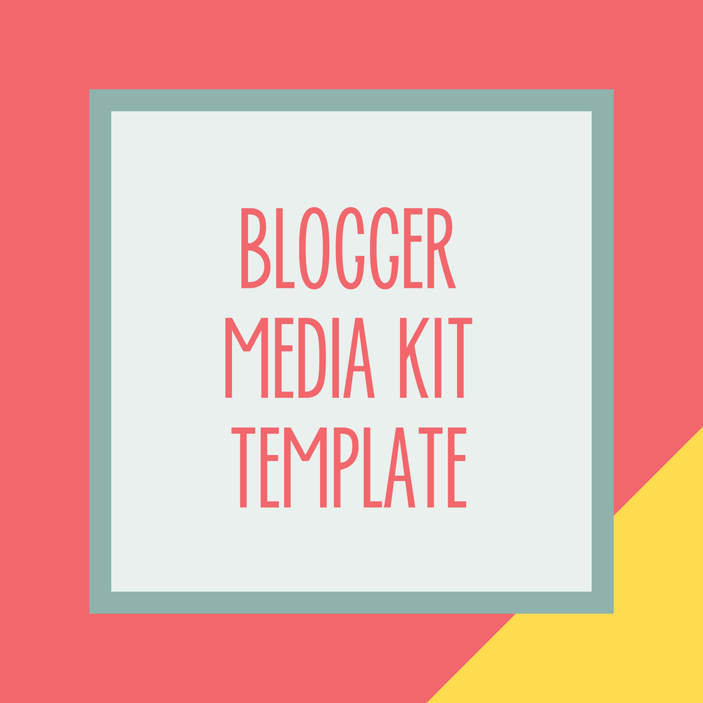 Bold & Pop : Bold Boss Resource Library Blogger Media Kit Template