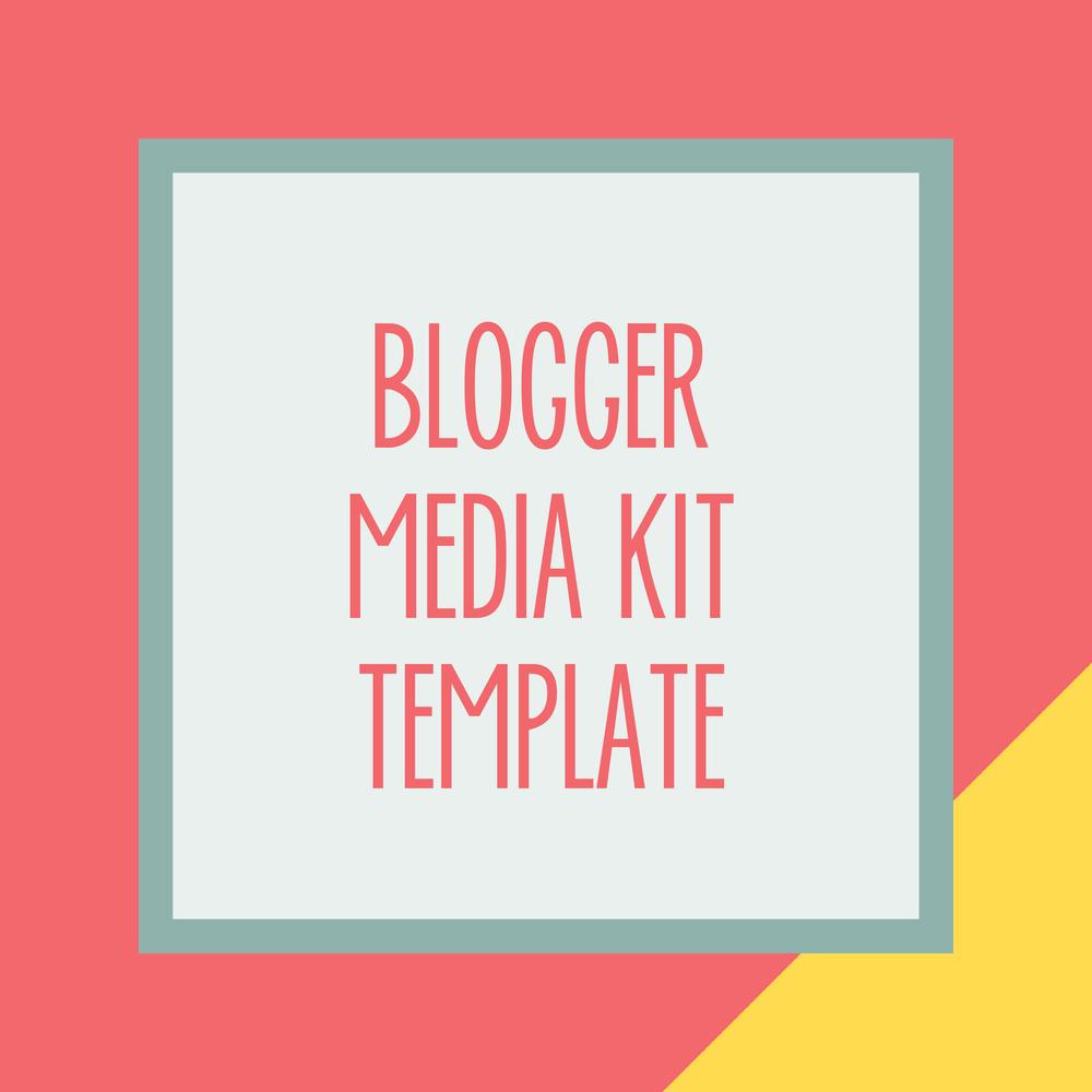 Bold & Pop : Bold Boss Resource Library Blogger Media Kit Template