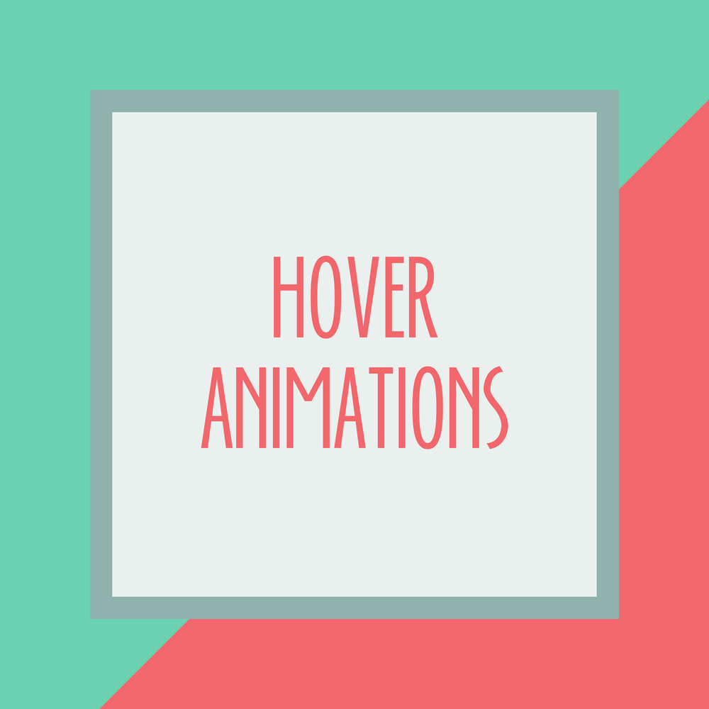 Bold & Pop : Bold Boss Resource Library Hover Animations on Squarespace