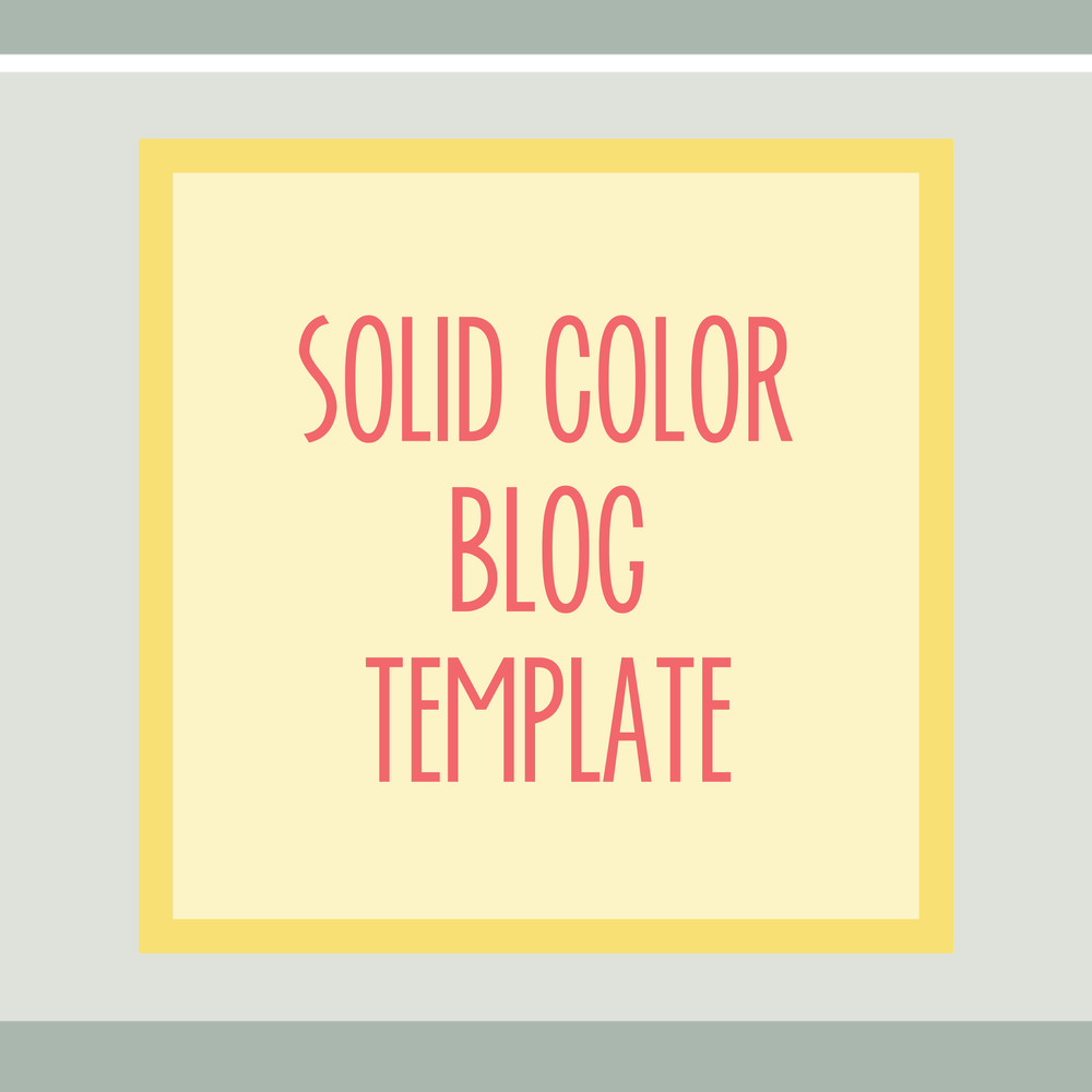 Bold & Pop : Bold Boss Resource Library Solid Color Blog Template