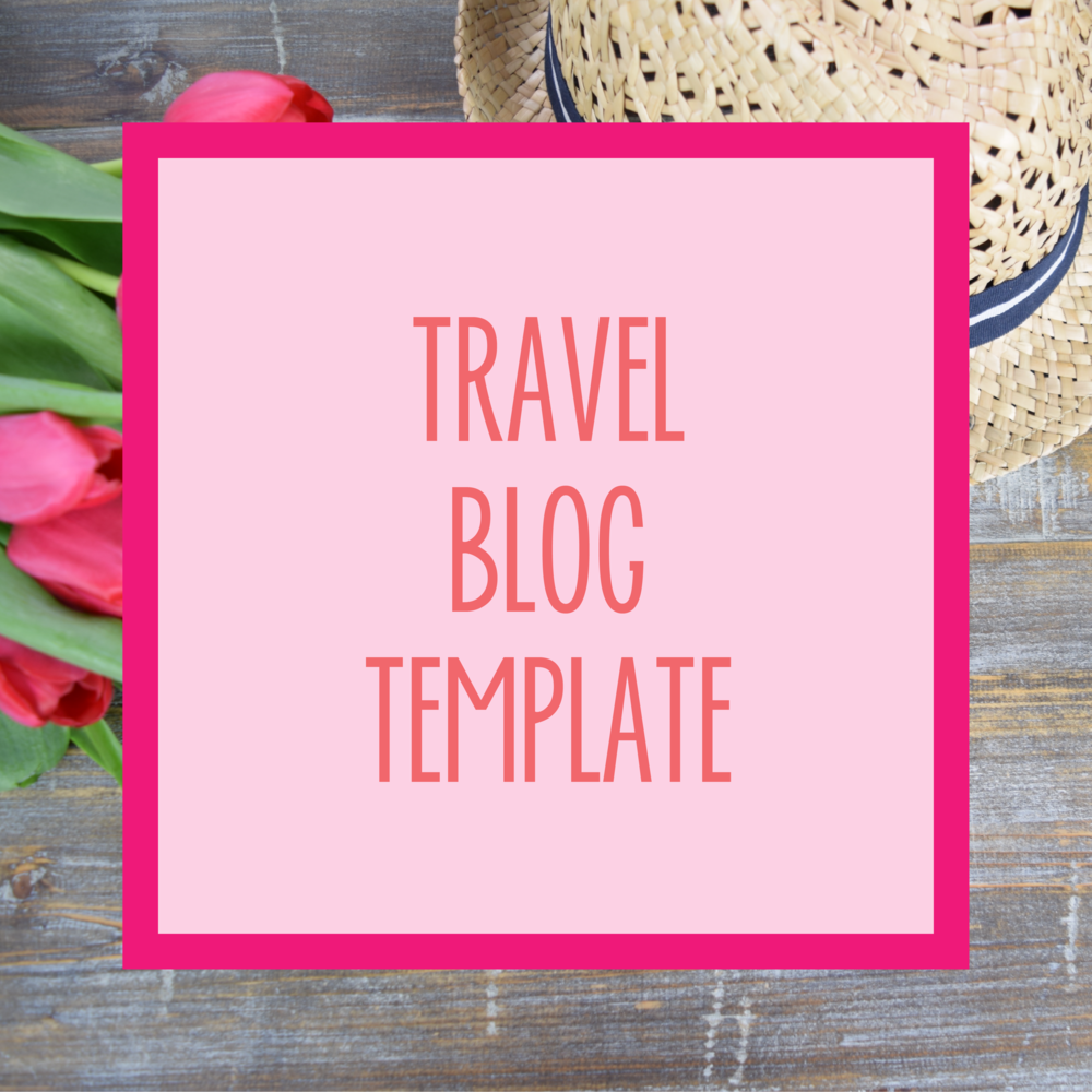 Bold & Pop : Bold Boss Resource Library Travel Blog Template