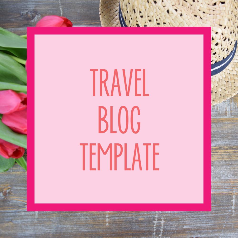 Bold & Pop : Bold Boss Resource Library Travel Blog Template