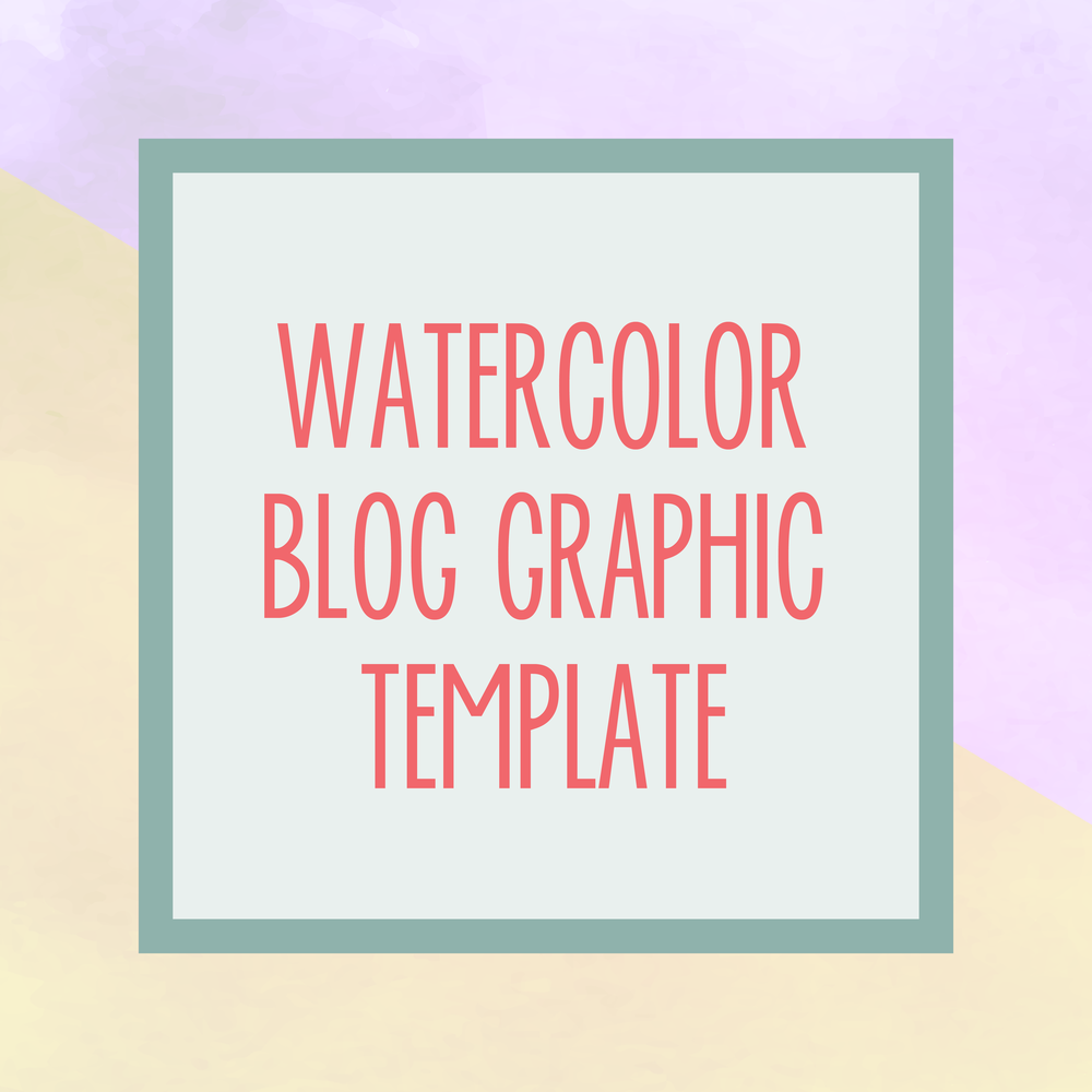 Bold & Pop : Bold Boss Resource Library Watercolor Blog Template