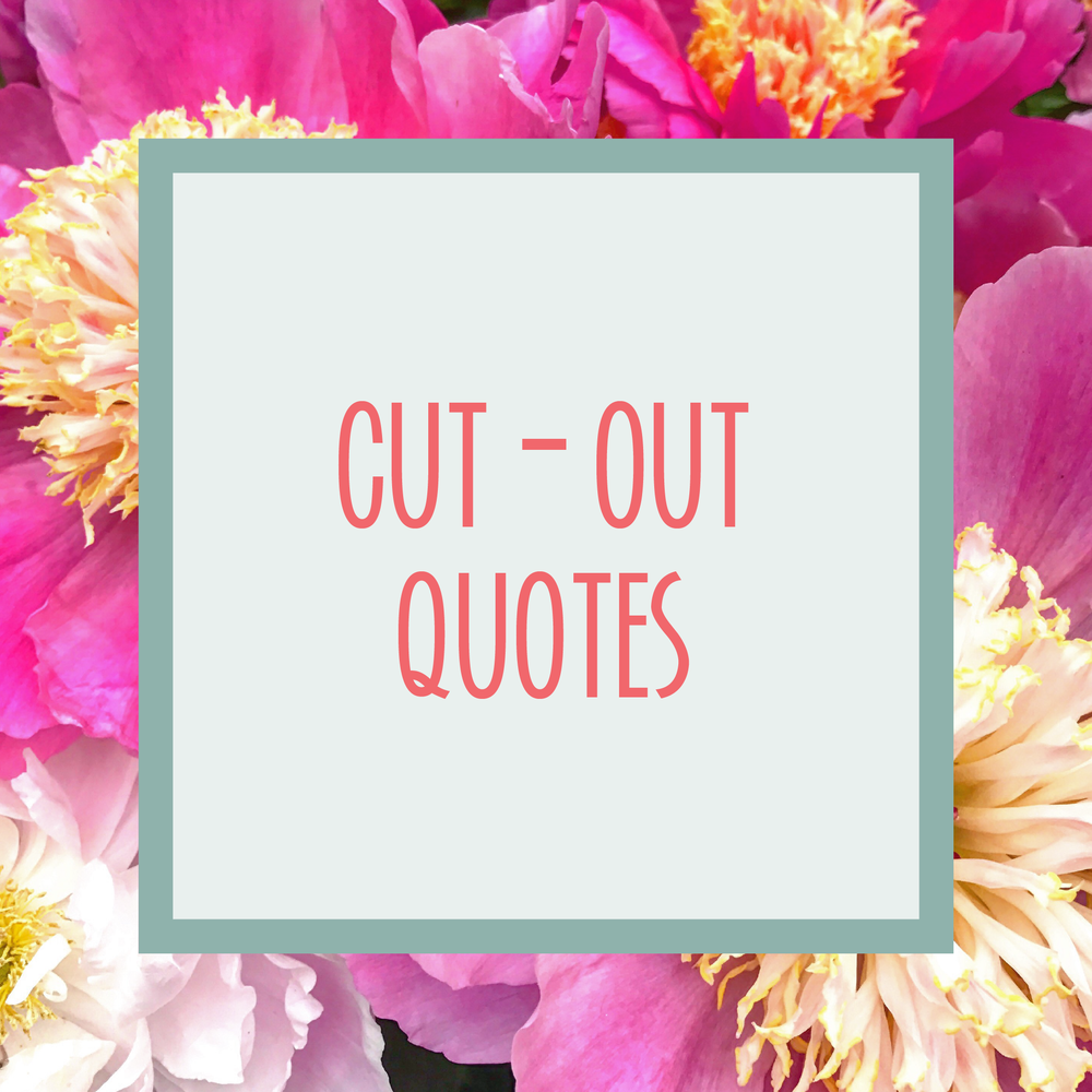 Bold & Pop : Bold Boss Resource Library Cut-Out Quotes