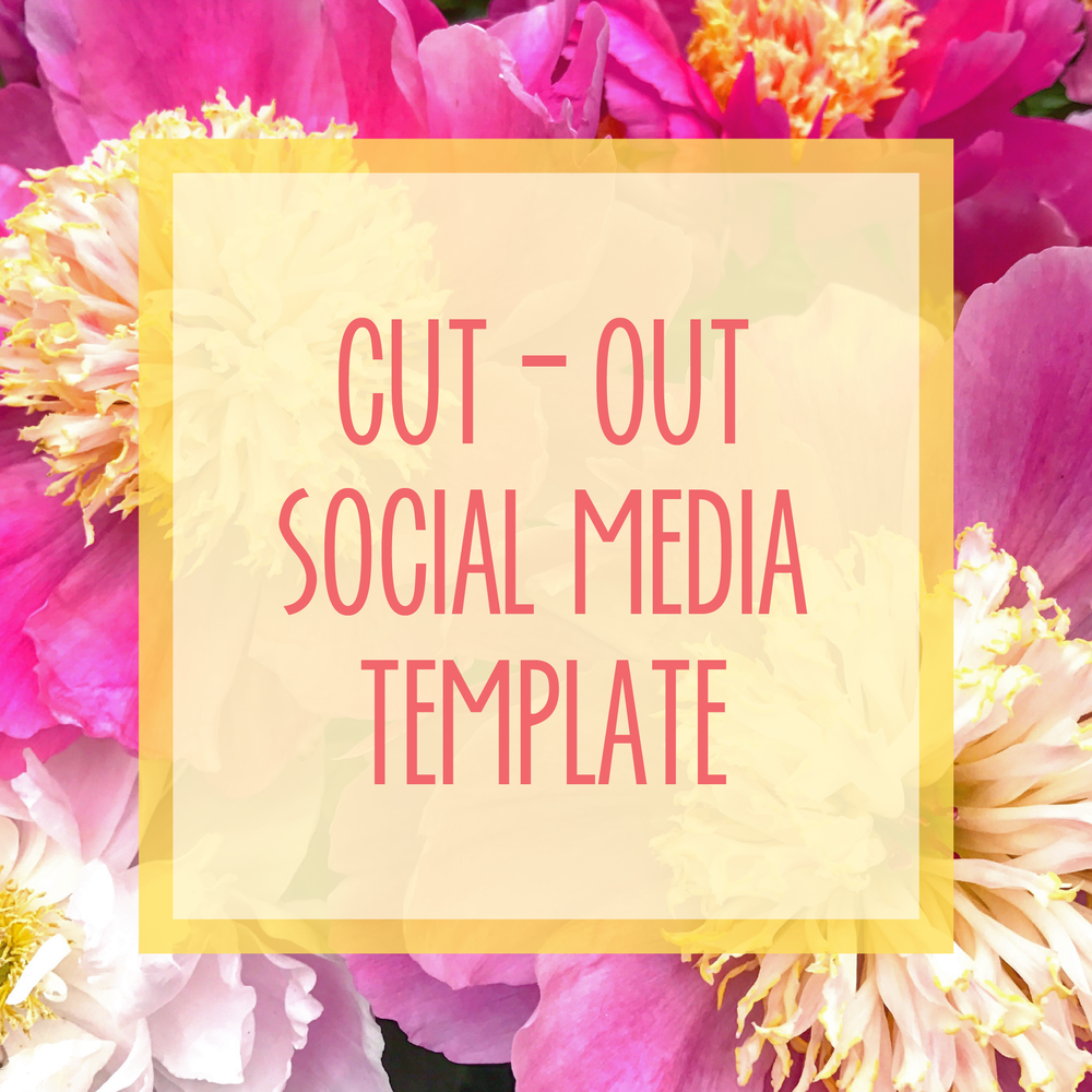 Bold & Pop : Bold Boss Resource Library Cut-Out Social Media Template
