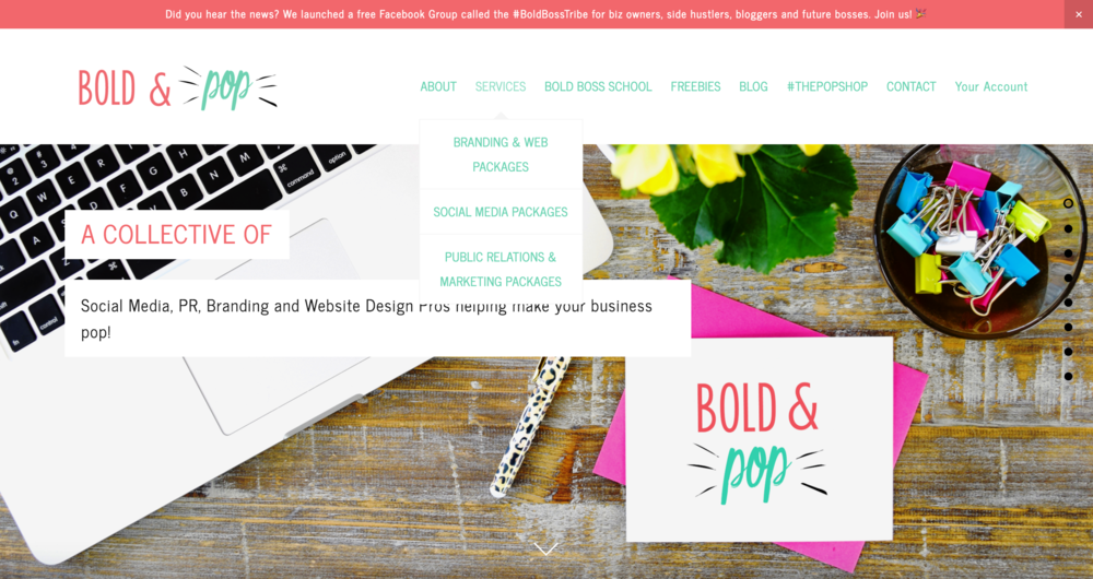 Bold & Pop : 5 Ways to Improve Your Website's User Experience