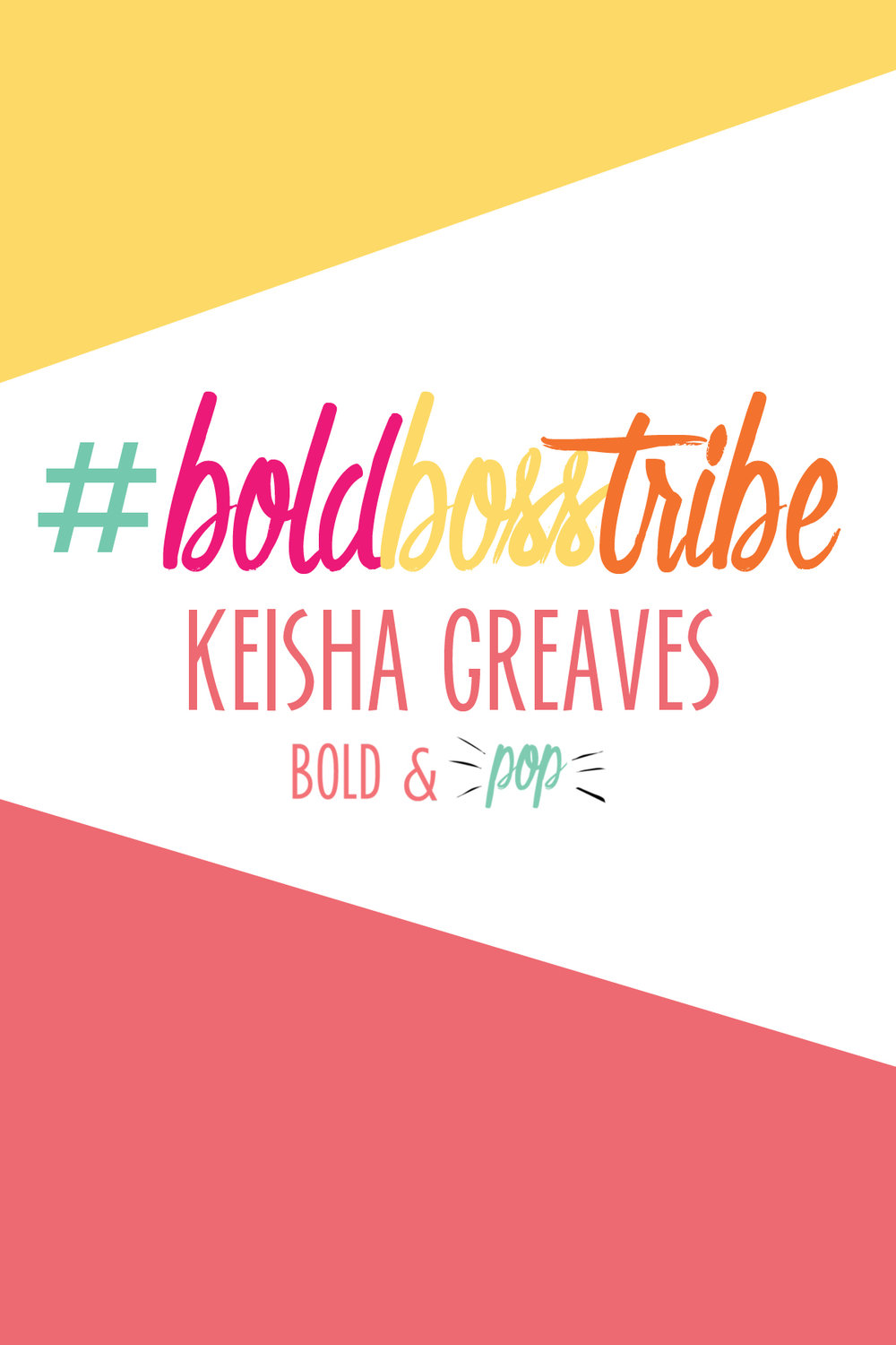 Bold & Pop : #BoldBossTribe Feature with Keisha Greaves Founder of Girls Chronically Rock