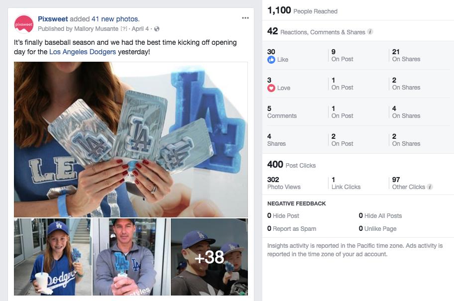 Bold & Pop : Pixsweet Social Media Campaign Case Study