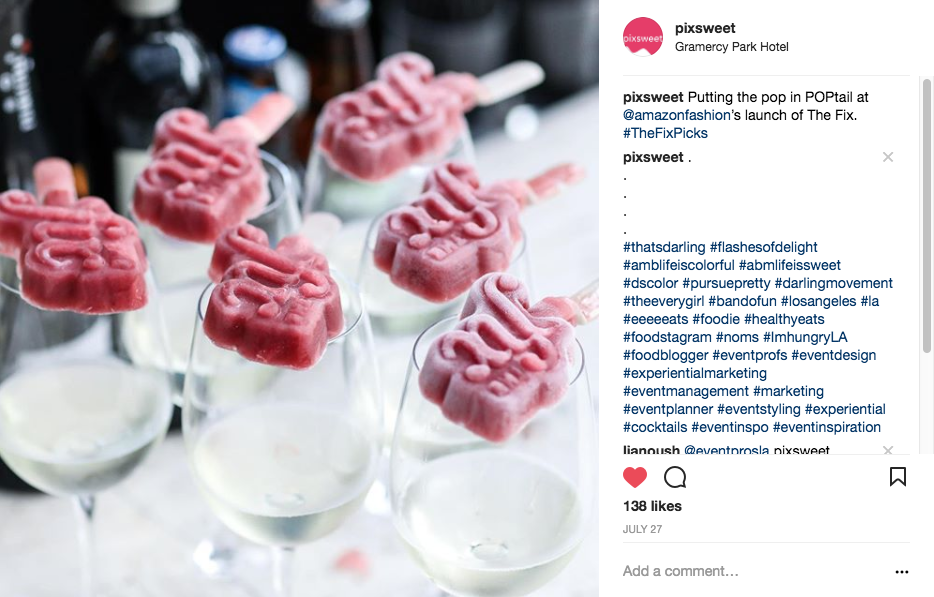 Bold & Pop : Pixsweet Social Media Campaign Case Study