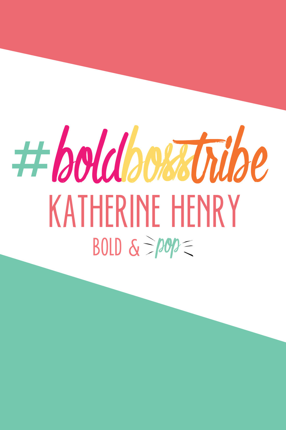 Bold & Pop #BoldBossTribe Feature with Boudoir Photographer Katherine Henry