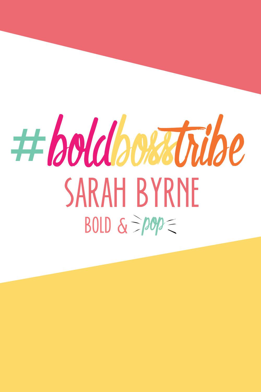 Bold & Pop : #BoldBossTribe Feature with Sarah Byrne Yoga + Essential Oils