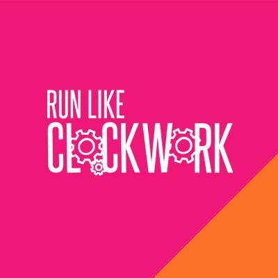 Run Like Clockwork <br> Branding & Website <br> Design