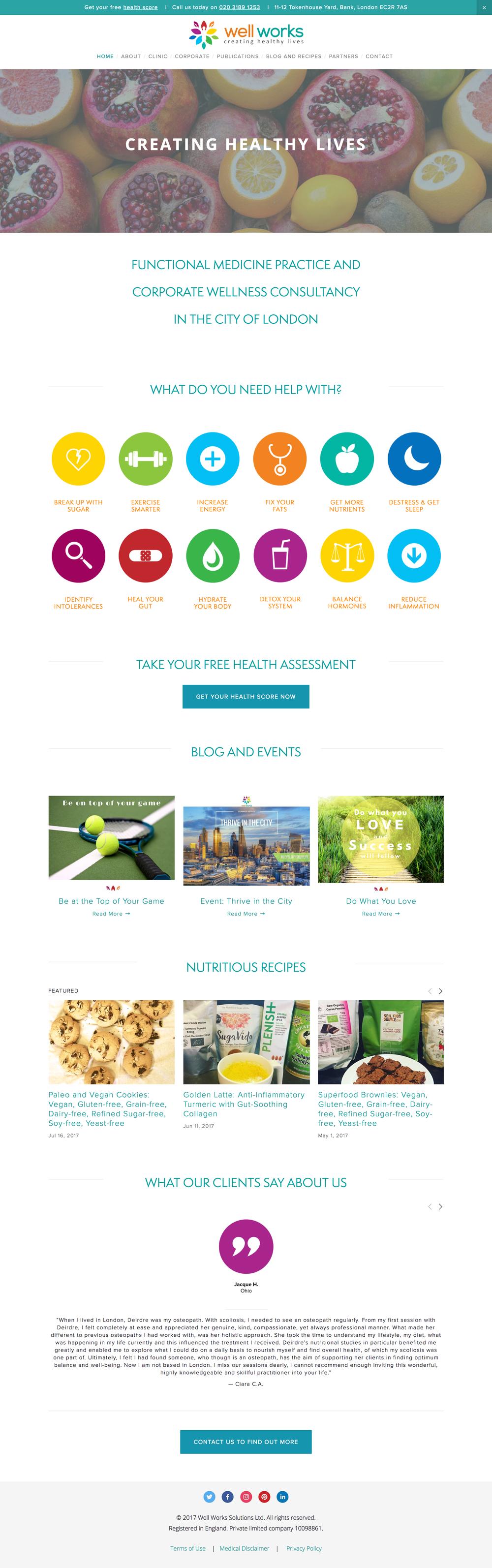 Wellness & Functional Medicine Website Design