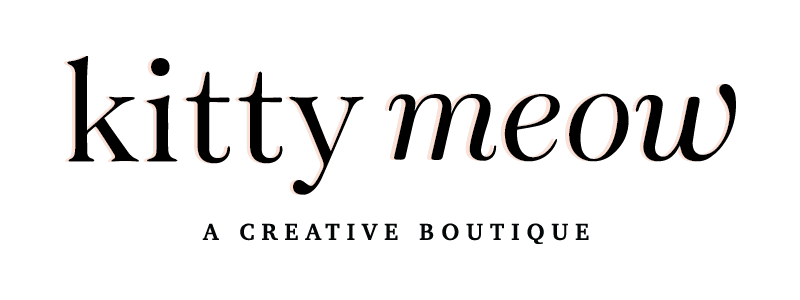 Bold & Pop :: #BoldBossTribe Feature with Catherine Hildner Founder of Kitty Meow: A Creative Boutique