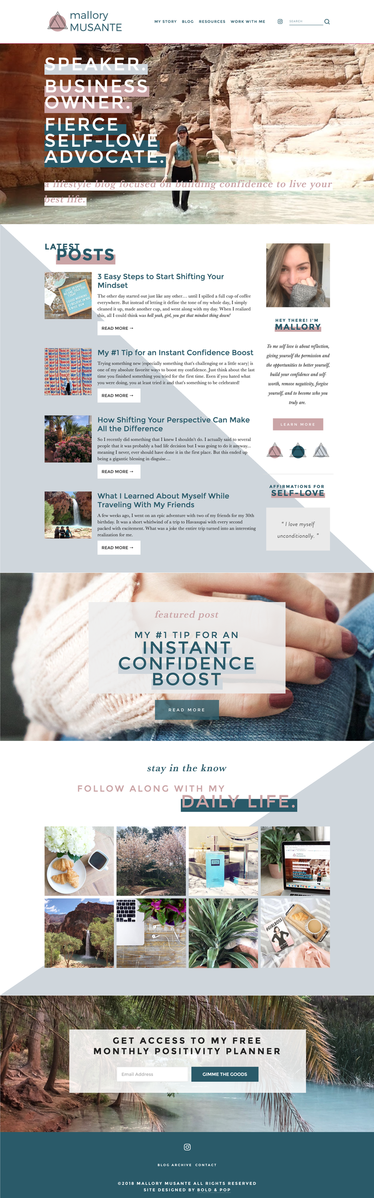 Bold & Pop - Squarespace Website Designers : Why the Brine Family Templates are the Best for Your Squarespace Website