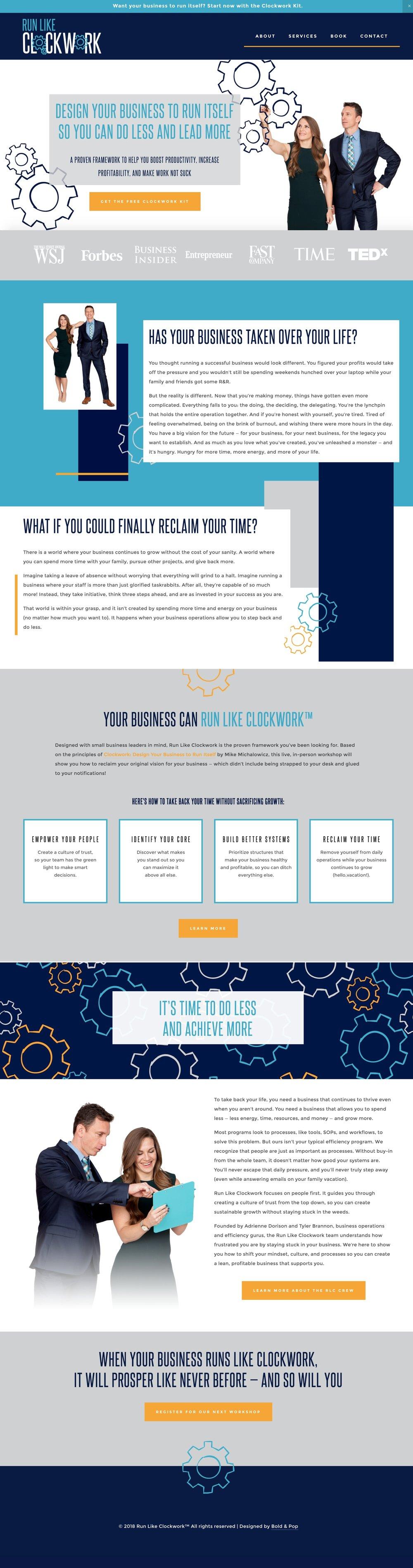Professional Services Branding & Website Design