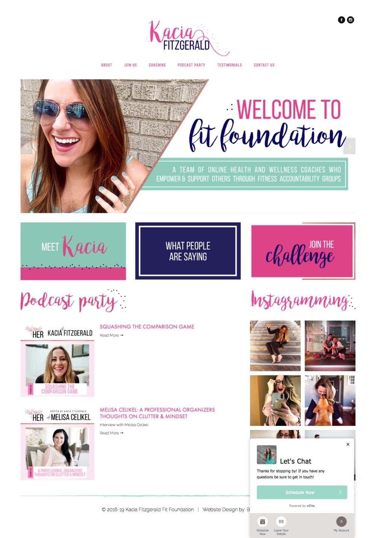 Coaching Branding & Website Design