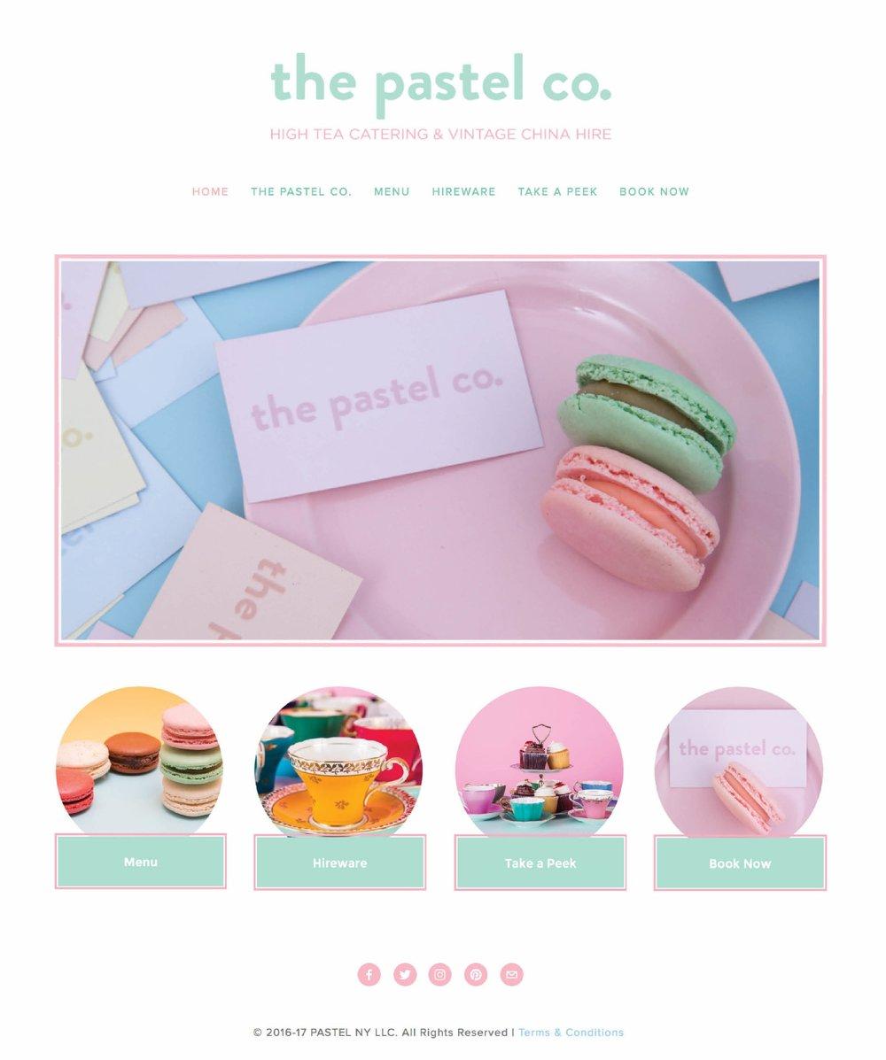 Pop-up Event Company Website Design