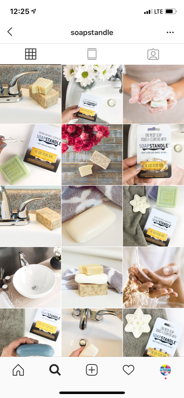 Bold & Pop : Soap Product Social Media Case Study | Brand Styled | Styled Social Media Images