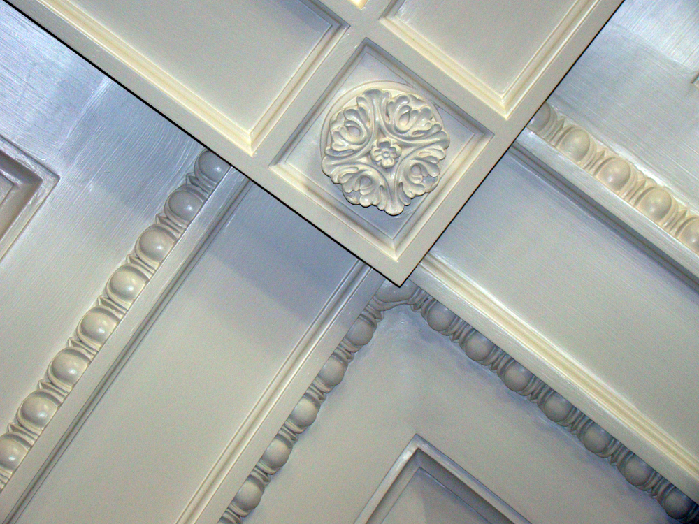 Coffered Ceiling by Foster Reeve
