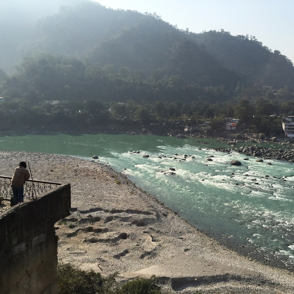 The holy river Ganga.