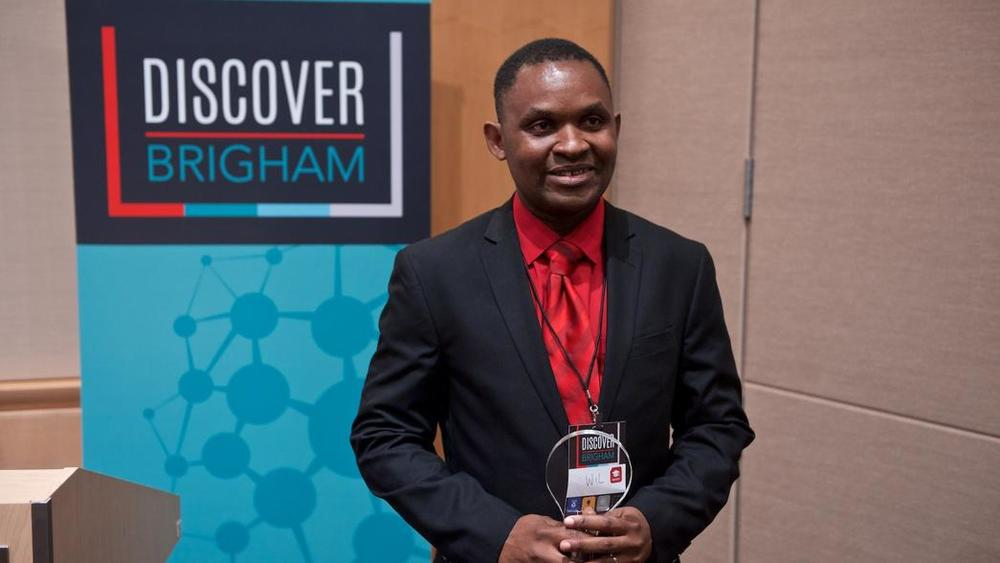 Ngwa after winning the BRIght Futures Award | Lightchaser Photography and Consulting Llc image by j. kiely jr. © 2015 photograph