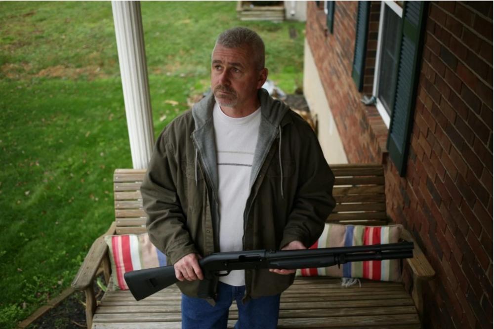 Drone Slayer William Meridith |Luke Sharrett for The Washington Post