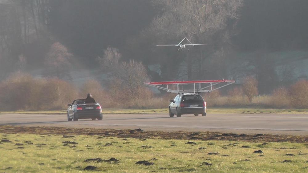 Landing in action
