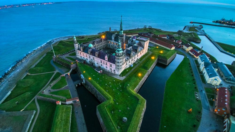 Kronborg Castle, Helsingør, Denmark -By Andrea Perotti