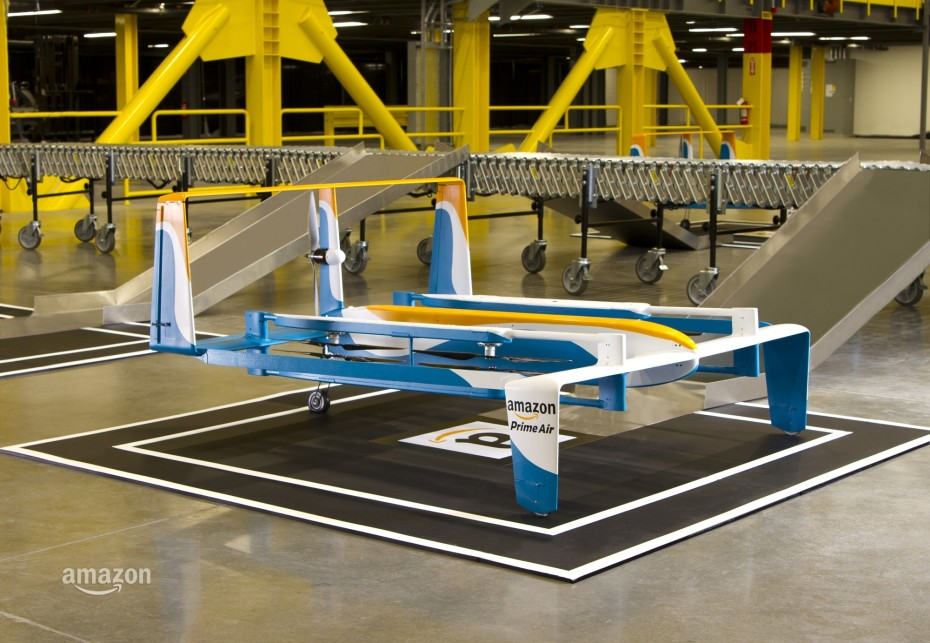 The project was partly inspired by Amazon and Google's own delivery drone plans