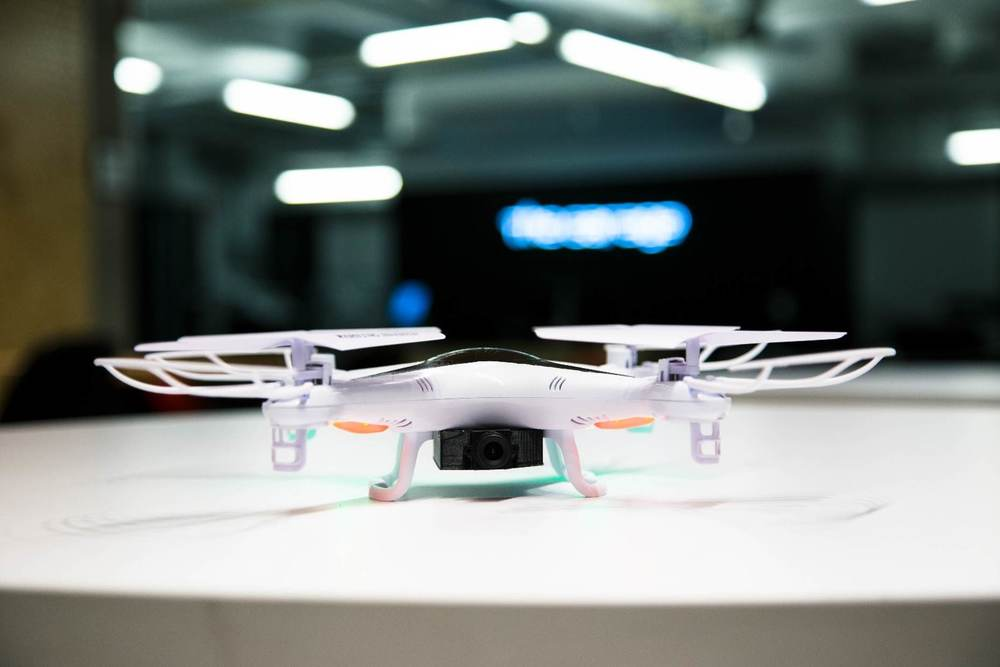The Rook drone will connect to your home's Wi-Fi network