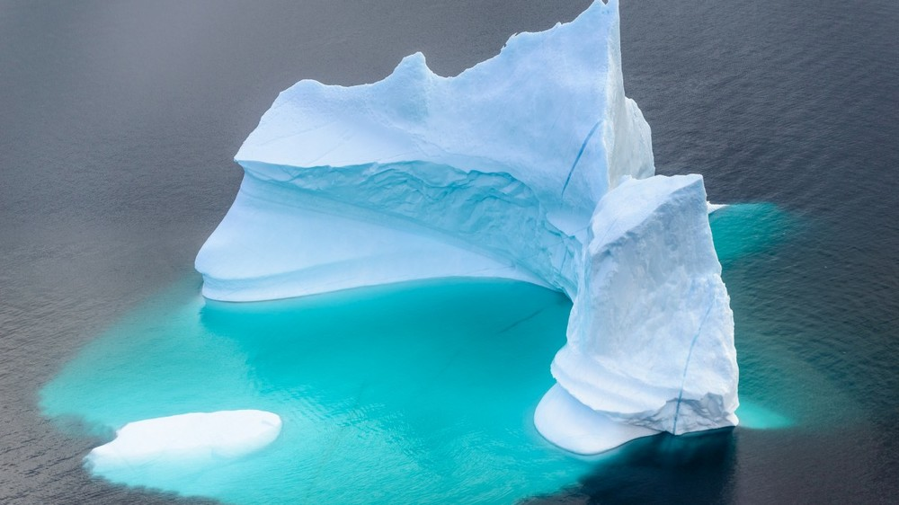 An iceberg in Greenland - by Inuk