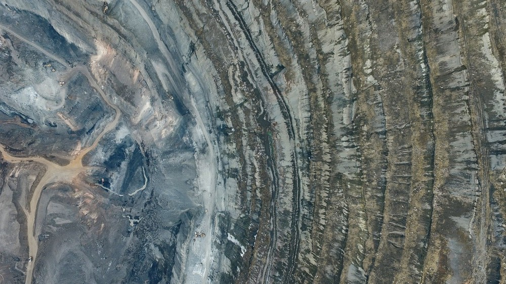 The Korkinskii coal quarry, Russia - Europe's largest, at 700m deep - by Maksim Tarasov