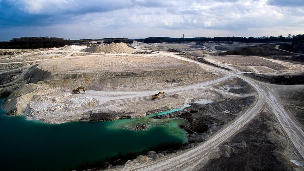 Faxe limestone quarry, Denmark - by mbernholdt