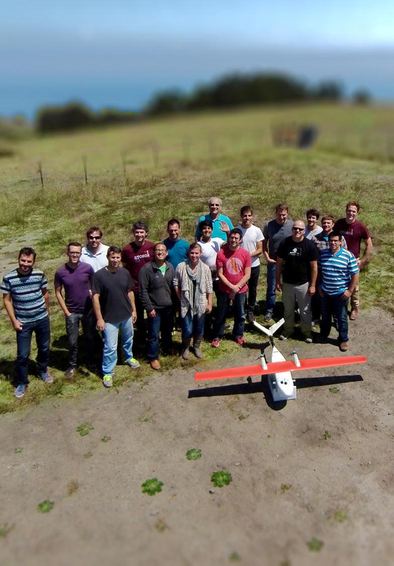 The Zipline team is based in San Francisco