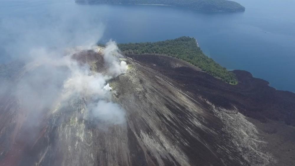 Anak Krakatoa Volcano, Indonesia -By smok502