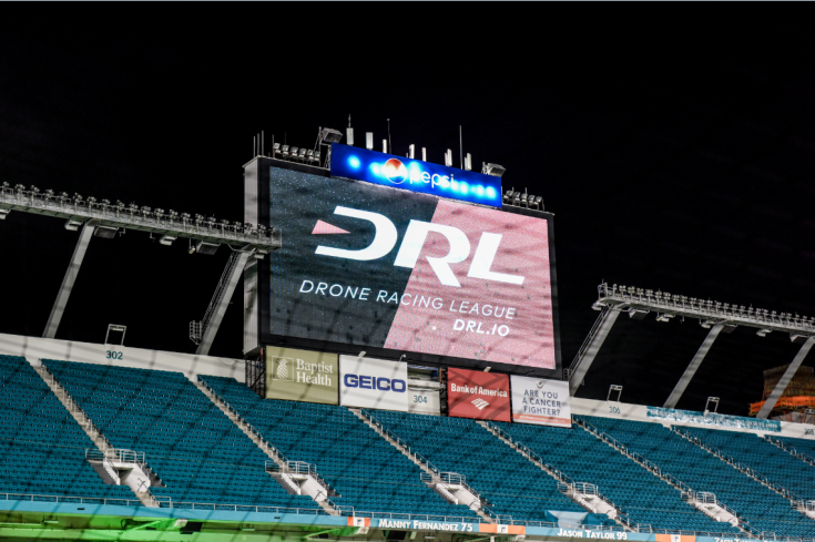 DRL has been leading the way in drone racing, until now?