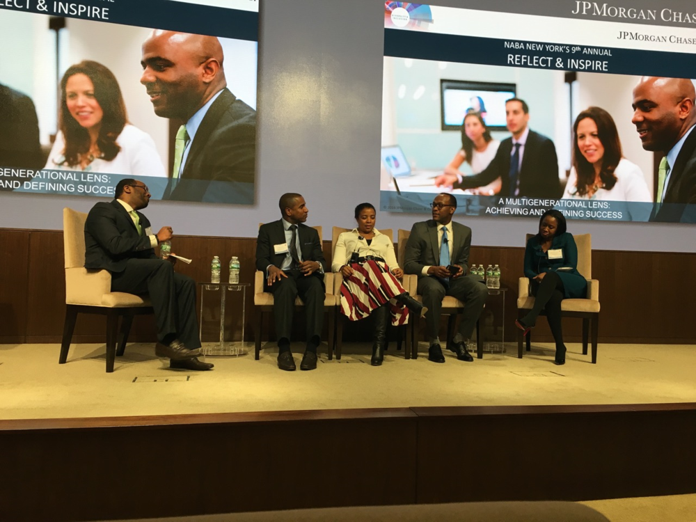 9th annual reflect & inspire forum, hosted by JPMorgan Chase