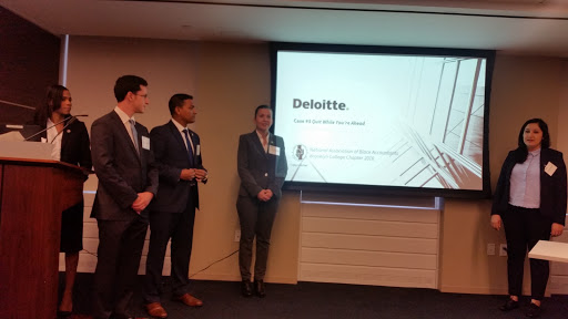 FALL 2016 NABA NY CASE STUDY COMPETITION, HOSTED BY DELOITTE