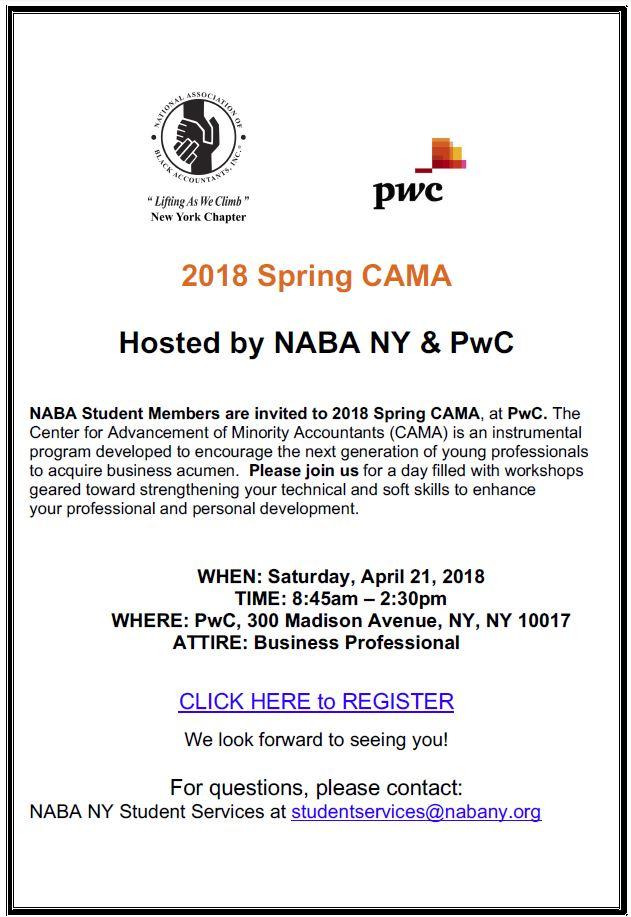 2018 Spring CAMA flyer.JPG