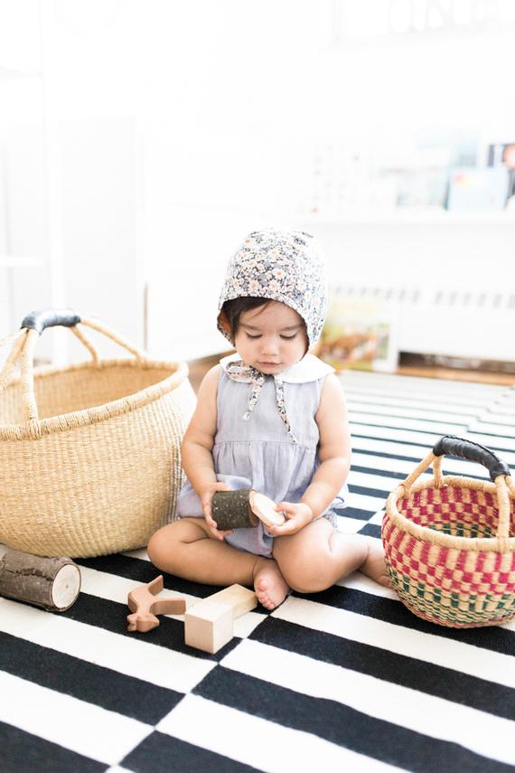 Little Peanut Magazine - Ramona's minimal nursery