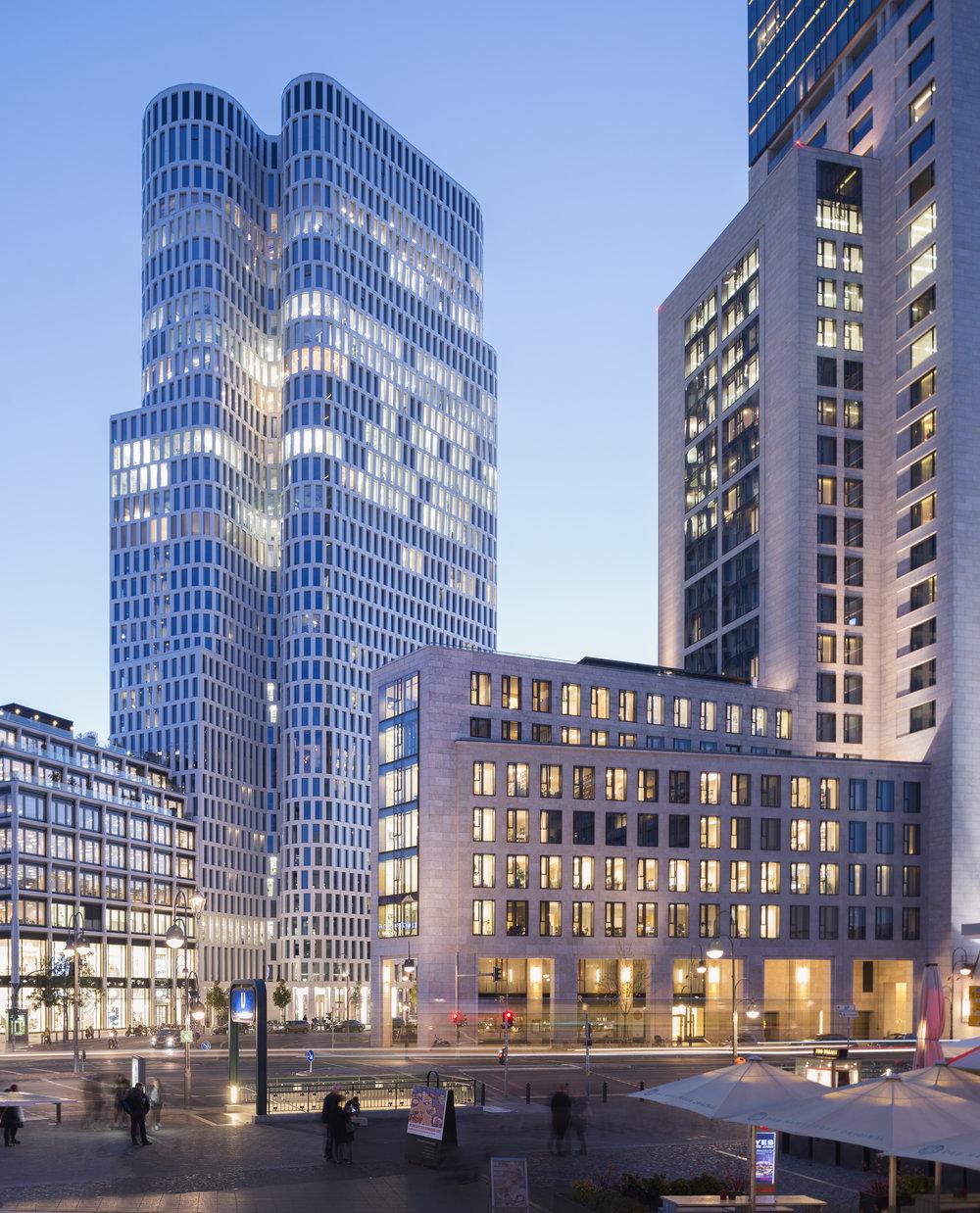 Langhof Architekten, Upper West Berlin