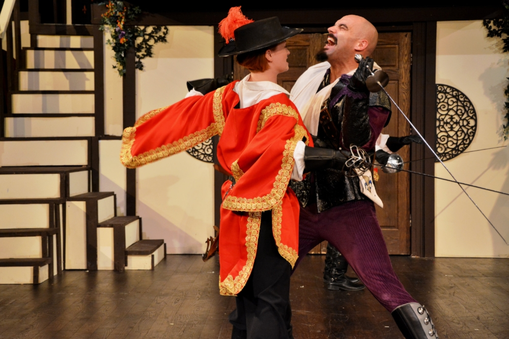 THE THREE MUSKETEERS: - An Adventure, with MusicBy Joe Pine, Music by Scott Campbell
