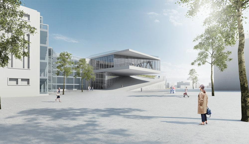 Le Palais des Congrès  Image: JDS Architects et Goffart Polomé