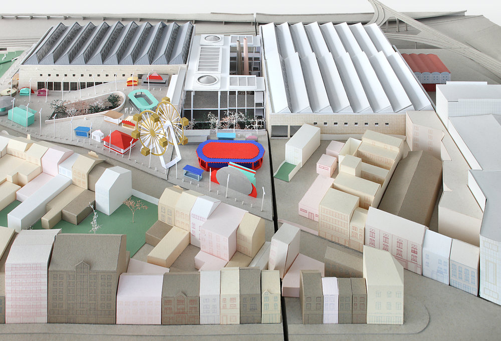 Le Palais des Expositions AM De Vylder Vinck Taillieu - AgwA Photo: Filip Dujardin