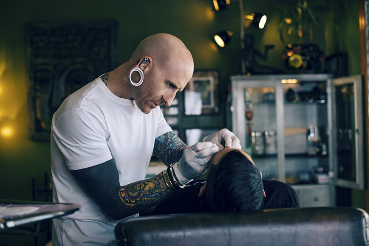 Piercer to the stars, Brian Keith Thompson. Photo: Ray Kachatorian.